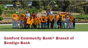 Bendigo Bank Samford Logo